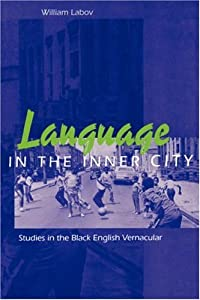 "Cover of ""Language in the Inner City: Stu..."