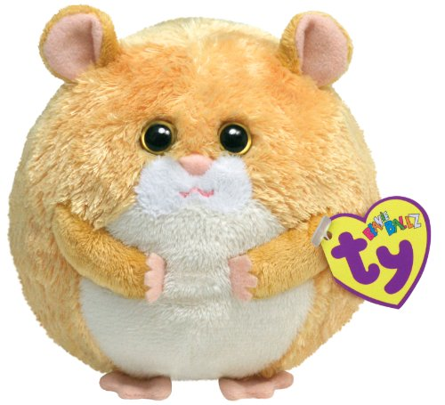 Ty Beanie Ballz - Flash The Hamster front-999847