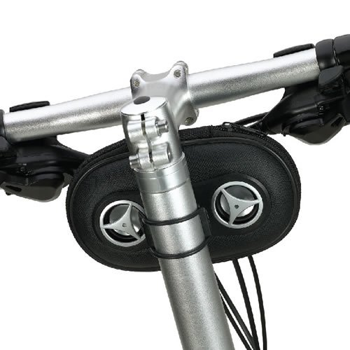 Bicycle Cycle Bike Sports Stereo Speaker Weather Proof Pouch Holder Mount Case for iPhone - LG - Nokia - Sanyo - HTC - Google - T-mobile - Motorola - Samsung - Android - PCD - Huawei - Blackberry - Pantech - Casio - HP - Kyocera and Windows Smartphones