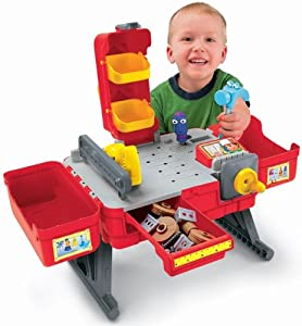 Handy manny workbench lookup beforebuying Fisher price tool bench