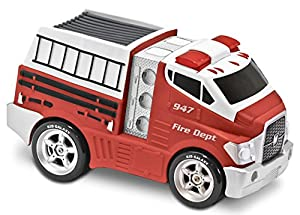Kid Galaxy Jumbo Soft and Squeezable Light and Sound Fire Truck