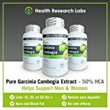 "Pure Garcinia Cambogia Extract - One Day Sale Just $19.97 + ADD 3 GET 1 FREE - As seen on Dr. Oz TV - ""No Dieting Or Exercise"" - Weight Loss - 50% HCA - 1000 mg per 2 capsules - Suppresses Your Appetite, Blocks Fat Production & NO Side Effects - 120 Capsules - Full 30 Day Supply. * CHECK OUR FREE BOTTLE OFFERS BELOW *"