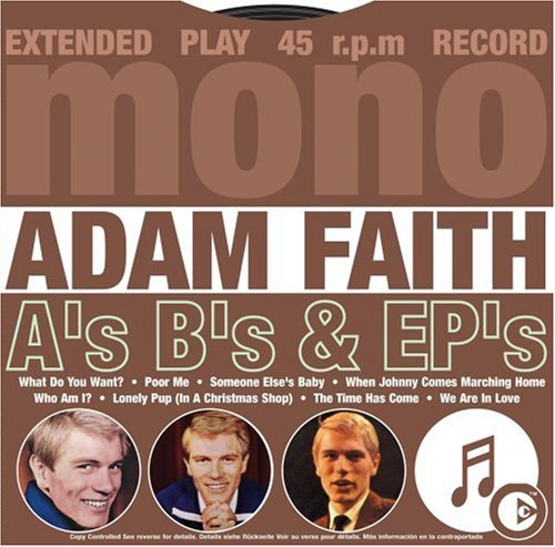 Adam Faith - A Sides B Sides & Ep S - Zortam Music