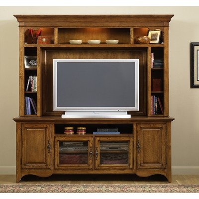 Cheap New Generation 75″ TV Stand in Medium Oak (140-TV00)