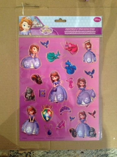 """Disney Characters Sticker Sheer 8""""x12""""- Selection of Mickey Mouse, Minnie Mouse, Monsters University, Cars and Winnie the Pooh"""