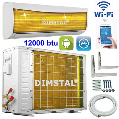 bieten a a golden fin wifi 12000 btu 3 5kw split klimaanlage inverter klimager t und heizung. Black Bedroom Furniture Sets. Home Design Ideas