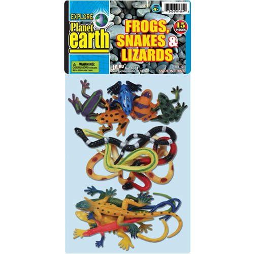 Frogs Snakes & Lizards Bag - Buy Frogs Snakes & Lizards Bag - Purchase Frogs Snakes & Lizards Bag (jaru, Toys & Games,Categories,Activities & Amusements)