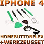 IPHONE 4 HOME BUTTON FLEX KABEL TASTE...