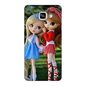 Special Sister Doll Multicolor Back Case Cover for Galaxy A5 2016