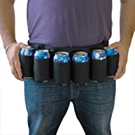 BigMouth Inc Beer Belt / 6 Pack Holst…
