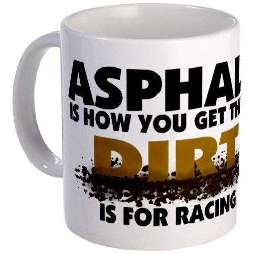 Dirt Is For Racing Coffee Mug Coffee Mug by CafePress