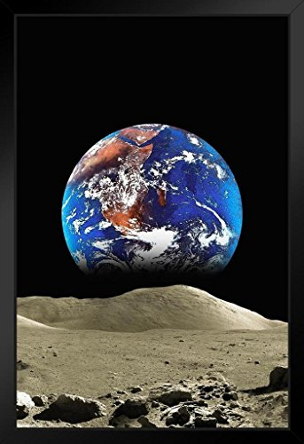 ProFrames-Malcolm-Watson-Earth-From-The-Moon-Framed-Poster-12x18