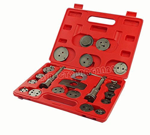 21PC Universal New Brake Caliper Piston Rewind Wind Back Tool Kit