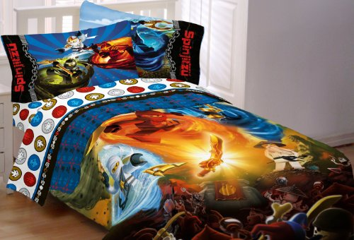 Lowest Prices! Lego Ninjago Ninja Masters Twin Sheet Set
