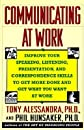 Communicating at Work   [COMMUNICATING AT WORK] [Paperback]