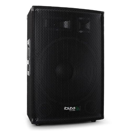 Ibiza 38cm (15 Zoll) PA Konzert Party Box Lautsprecher DJ 1000W