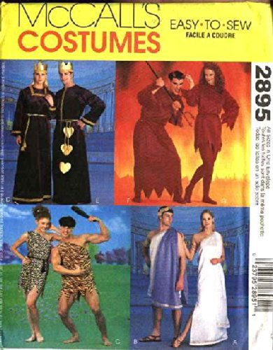 McCall's 2895 Sewing Pattern Costumes