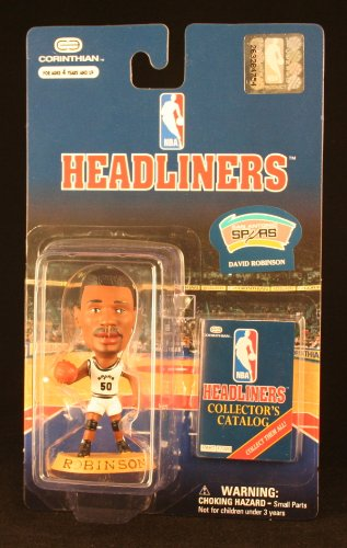DAVID ROBINSON / SAN ANTONIO SPURS * 3 INCH * 1996 NBA Headliners Basketball Collector Figure - 1