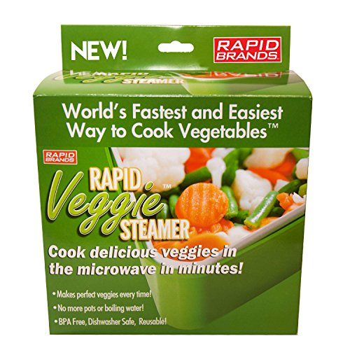 Rapid Veggie Steamer - Cook Pefect Vegetables in the Microwave! (Steam Cook Microwave compare prices)