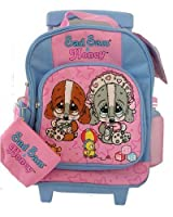 Sad Sam and Honey Kids Size Rolling Backpack Luggage Bag [Toy]