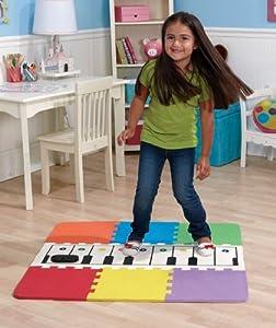 Amazon Com Jumbo Floor Piano Mat Toys Amp Games