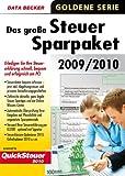 Das grosse Steuersparpaket 2009/2010 (für Steuerjahr 2009)