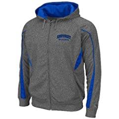 Kentucky Wildcats NCAA Renegade Full Zip Hooded Sweatshirt - Charcoal by Unknown