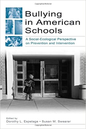 Book cover: bullying in american schools
