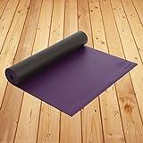 Natural Fitness Warrior Yoga Mat (Amethyst, 24 x 69-Inch x 5-mm)