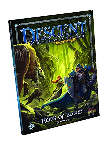 Descent, Journeys in the Dark - Heirs of Blood Campaign Book