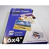 """6 x 4"""" Photo Paper MATT, 40 Sheets, 235gsm"""