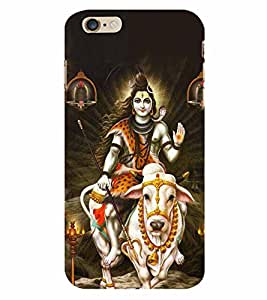 Lord Shiva 3D Hard Polycarbonate Designer Back Case Cover for Apple iPhone 6