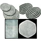 Placa caliente y salvamantel patrones para Crochet