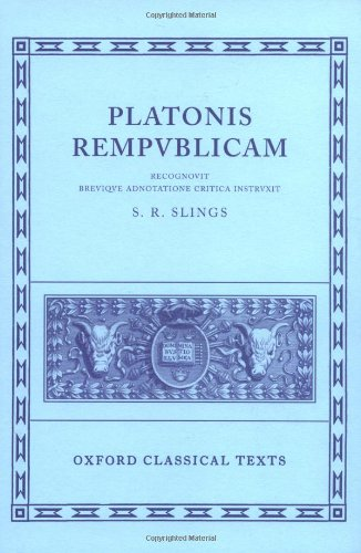 Plato Respublica (Oxford Classical Texts)