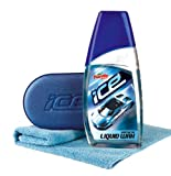 Turtlewax Turtle Wax Ice Car Synthetic Liquid Polish Includes Microfibre Cloth & Applicator Pad
