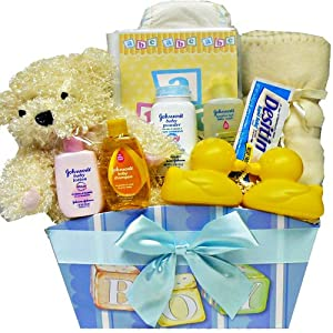 Art of Appreciation Gift Baskets It's A Boy - New Baby Gift Basket