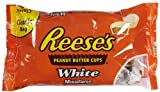 Reese's Peanut Butter Cups, White Chocolate Miniatures, 12-Ounce Bag by The Hershey Company