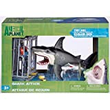 shark attack figure playset animal planet