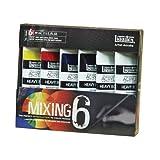Liquitex Professional Heavy Body The Mixing Paint Set, Set of 6