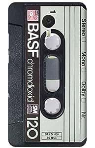 cassette Designer Printed Back Case Cover for YU Yunicorn