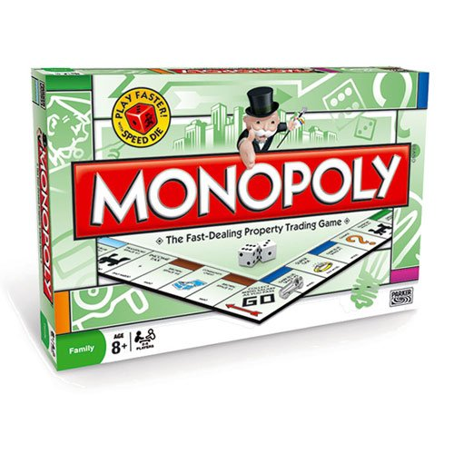 Monopoly - Classic Board Game by Parker Brothers
