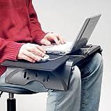 ひざの上がテーブルに、マウスも使える【ラップトップテーブル】 EEA-LD003