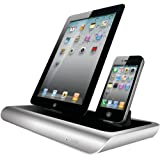 iSound Power View Pro S Charge and View Dock with 2 Apple 30 Pin Charge for iPad 1 2 & 3, all iPhones (except for iPhone 5 and above) , all iPod touches and more (black)
