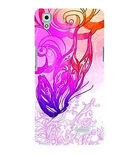 PrintVisa OPPOR7-Modern Art Art Plastic Back Cover for Oppo R7 (Multicolor)