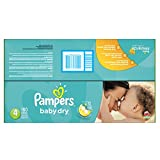 Pampers Baby Dry Diapers Economy Pack Plus, Size 4, 180 Count (One Month Supply)