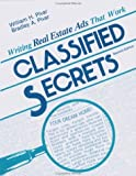 img - for Classified Secrets: Writing Real Estate Ads That Work by William Pivar (1988-07-01) book / textbook / text book