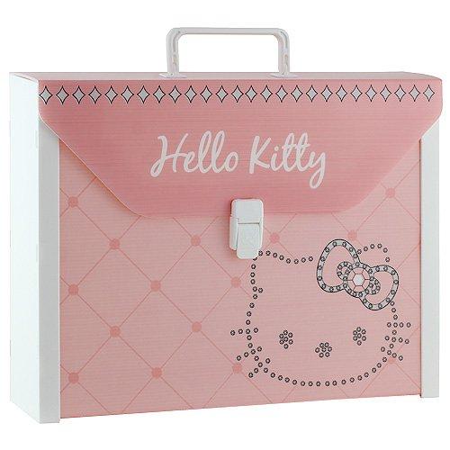 Hello Kitty 11-2316 - Maleta para escuela, color rosa