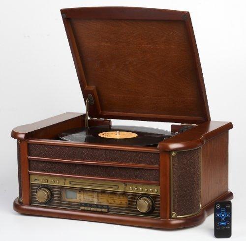 nostalgie-retro-holz-musik-anlage-schallplattenspieler-cd-mp3-usb-player-nostalgieradio-aux-in-aufna