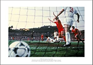 Liverpool Fc Photo - 1984 European Cup Final Picture Memorabilia