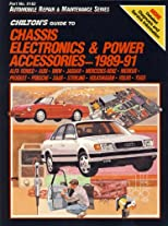 Chilton's Guide to Chassis Electronics and Power Accessories 1989-91
